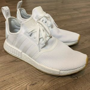 adidas | All White NMD_R1 SHOES Size 12 Mens